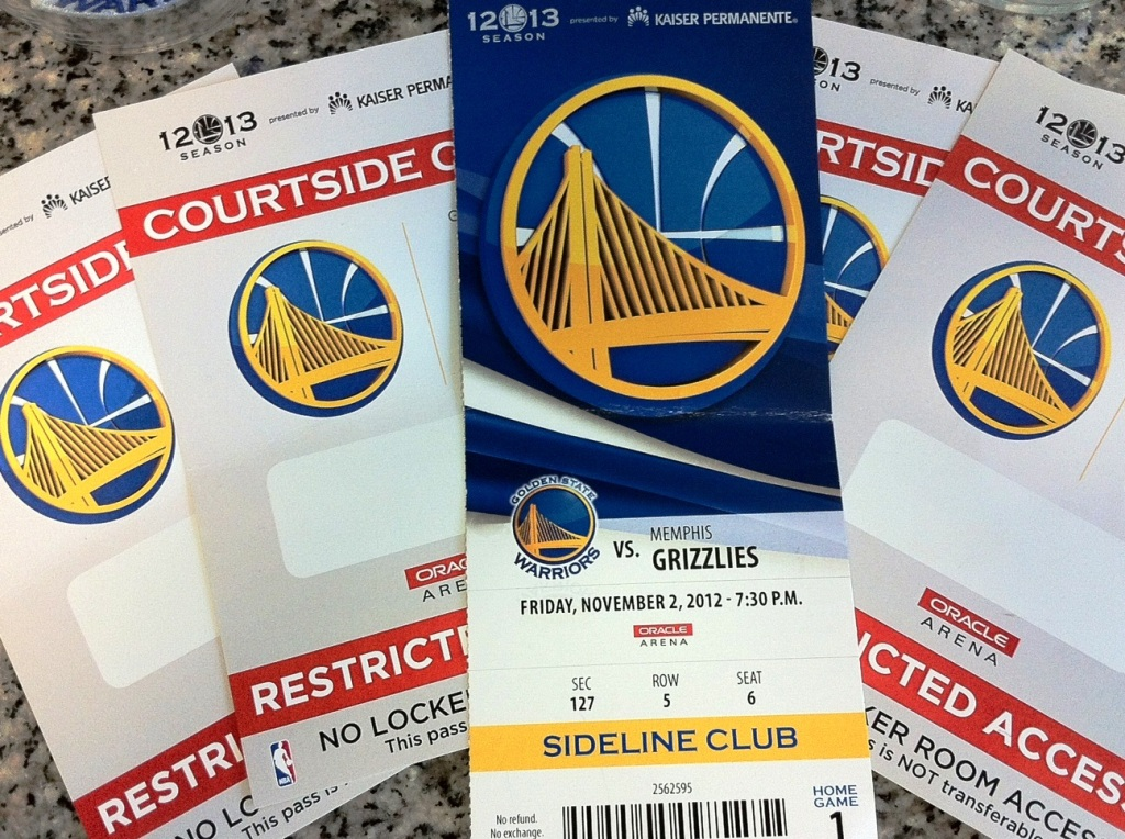 Warriors Tickets