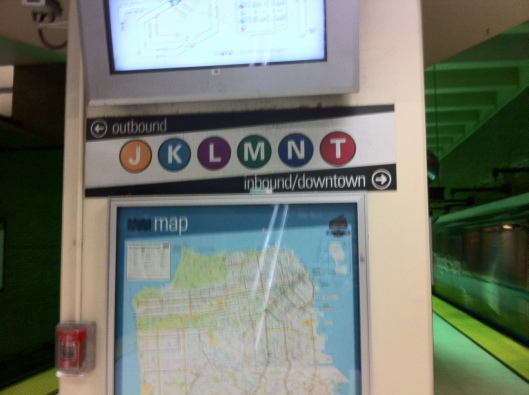Choose a route: MUNI gets you around town with ease.