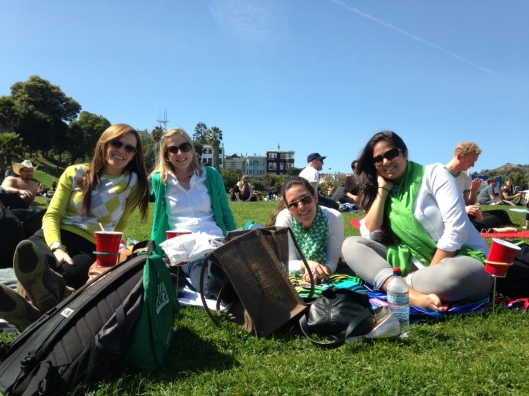 Dolores Park day.