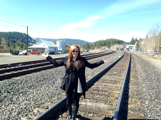Amtrak comes through Truckee twice a day.