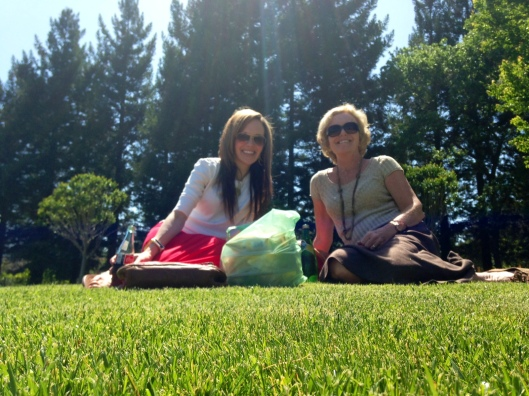 Picnic in Yountville