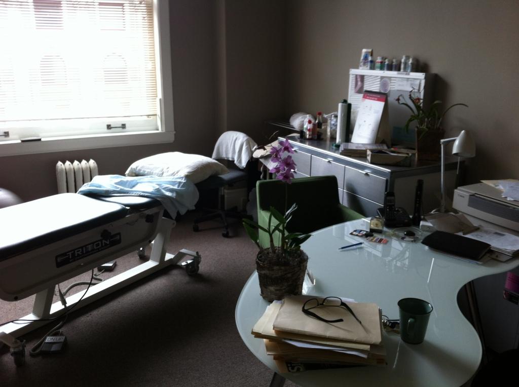 Dr. Hingel's office